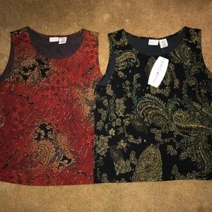 Two for one tank tops!